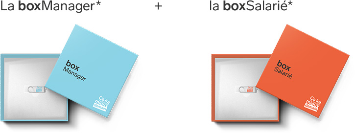 la box manager et la box salarié